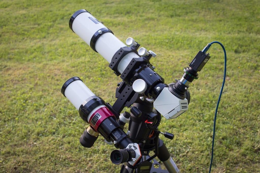 Päikese pildistamine CCD-kaameraga