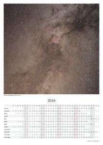 Kalender 2016: Linnutee