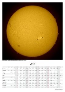 Kalender 2016: Päike